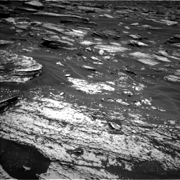 Nasa's Mars rover Curiosity acquired this image using its Left Navigation Camera on Sol 1683, at drive 2524, site number 62