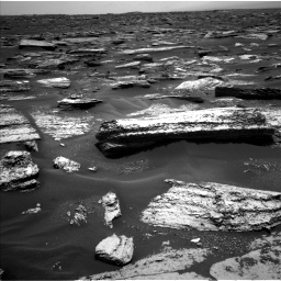 Nasa's Mars rover Curiosity acquired this image using its Left Navigation Camera on Sol 1683, at drive 2608, site number 62