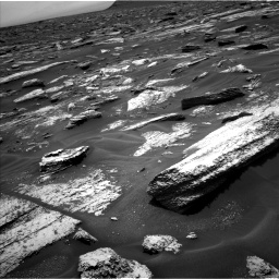 Nasa's Mars rover Curiosity acquired this image using its Left Navigation Camera on Sol 1683, at drive 2632, site number 62