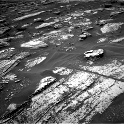 Nasa's Mars rover Curiosity acquired this image using its Left Navigation Camera on Sol 1683, at drive 2650, site number 62