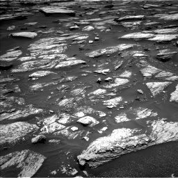Nasa's Mars rover Curiosity acquired this image using its Left Navigation Camera on Sol 1683, at drive 2704, site number 62
