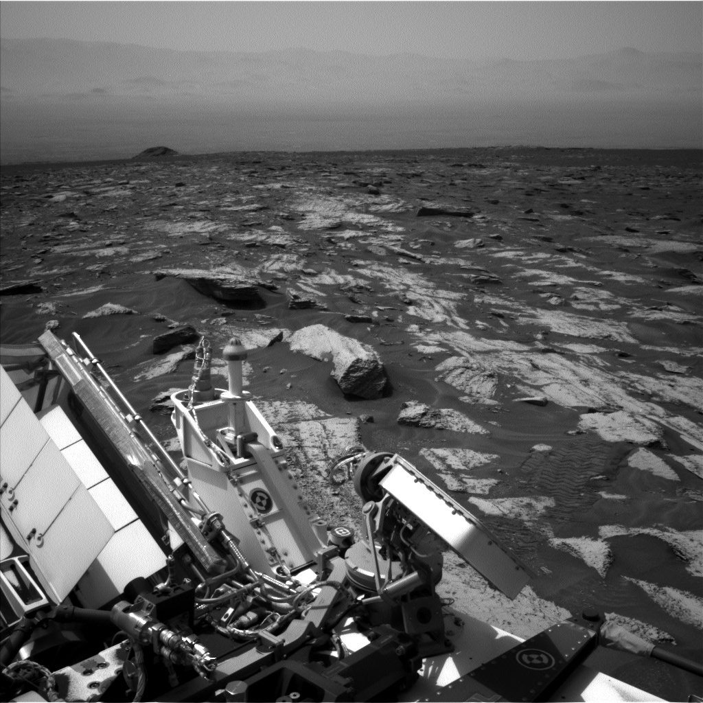 Nasa's Mars rover Curiosity acquired this image using its Left Navigation Camera on Sol 1683, at drive 2726, site number 62