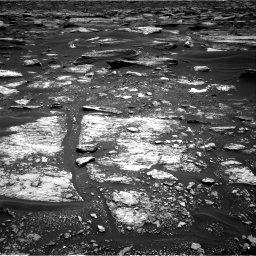 Nasa's Mars rover Curiosity acquired this image using its Right Navigation Camera on Sol 1683, at drive 2488, site number 62