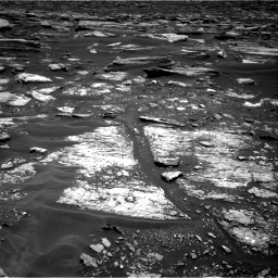 Nasa's Mars rover Curiosity acquired this image using its Right Navigation Camera on Sol 1683, at drive 2494, site number 62