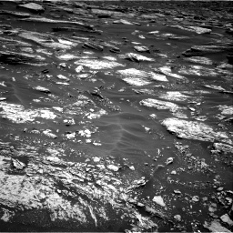 Nasa's Mars rover Curiosity acquired this image using its Right Navigation Camera on Sol 1683, at drive 2518, site number 62