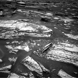 Nasa's Mars rover Curiosity acquired this image using its Right Navigation Camera on Sol 1683, at drive 2536, site number 62