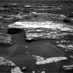 Nasa's Mars rover Curiosity acquired this image using its Right Navigation Camera on Sol 1683, at drive 2548, site number 62