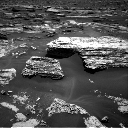 Nasa's Mars rover Curiosity acquired this image using its Right Navigation Camera on Sol 1683, at drive 2554, site number 62