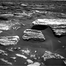 Nasa's Mars rover Curiosity acquired this image using its Right Navigation Camera on Sol 1683, at drive 2560, site number 62