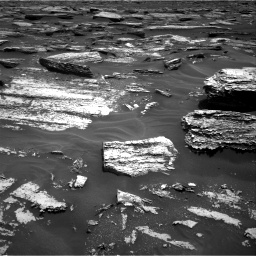 Nasa's Mars rover Curiosity acquired this image using its Right Navigation Camera on Sol 1683, at drive 2566, site number 62