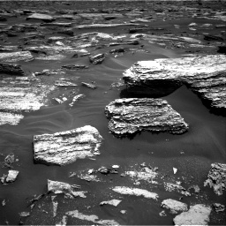 Nasa's Mars rover Curiosity acquired this image using its Right Navigation Camera on Sol 1683, at drive 2572, site number 62