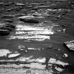 Nasa's Mars rover Curiosity acquired this image using its Right Navigation Camera on Sol 1683, at drive 2584, site number 62