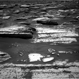 Nasa's Mars rover Curiosity acquired this image using its Right Navigation Camera on Sol 1683, at drive 2590, site number 62