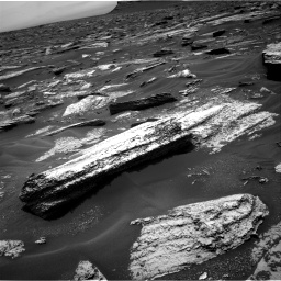 Nasa's Mars rover Curiosity acquired this image using its Right Navigation Camera on Sol 1683, at drive 2626, site number 62