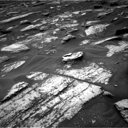 Nasa's Mars rover Curiosity acquired this image using its Right Navigation Camera on Sol 1683, at drive 2656, site number 62