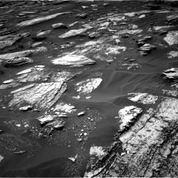 Nasa's Mars rover Curiosity acquired this image using its Right Navigation Camera on Sol 1683, at drive 2668, site number 62