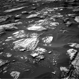 Nasa's Mars rover Curiosity acquired this image using its Right Navigation Camera on Sol 1683, at drive 2674, site number 62