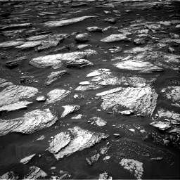 Nasa's Mars rover Curiosity acquired this image using its Right Navigation Camera on Sol 1683, at drive 2686, site number 62
