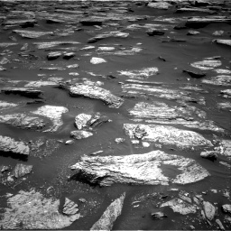 Nasa's Mars rover Curiosity acquired this image using its Right Navigation Camera on Sol 1683, at drive 2716, site number 62