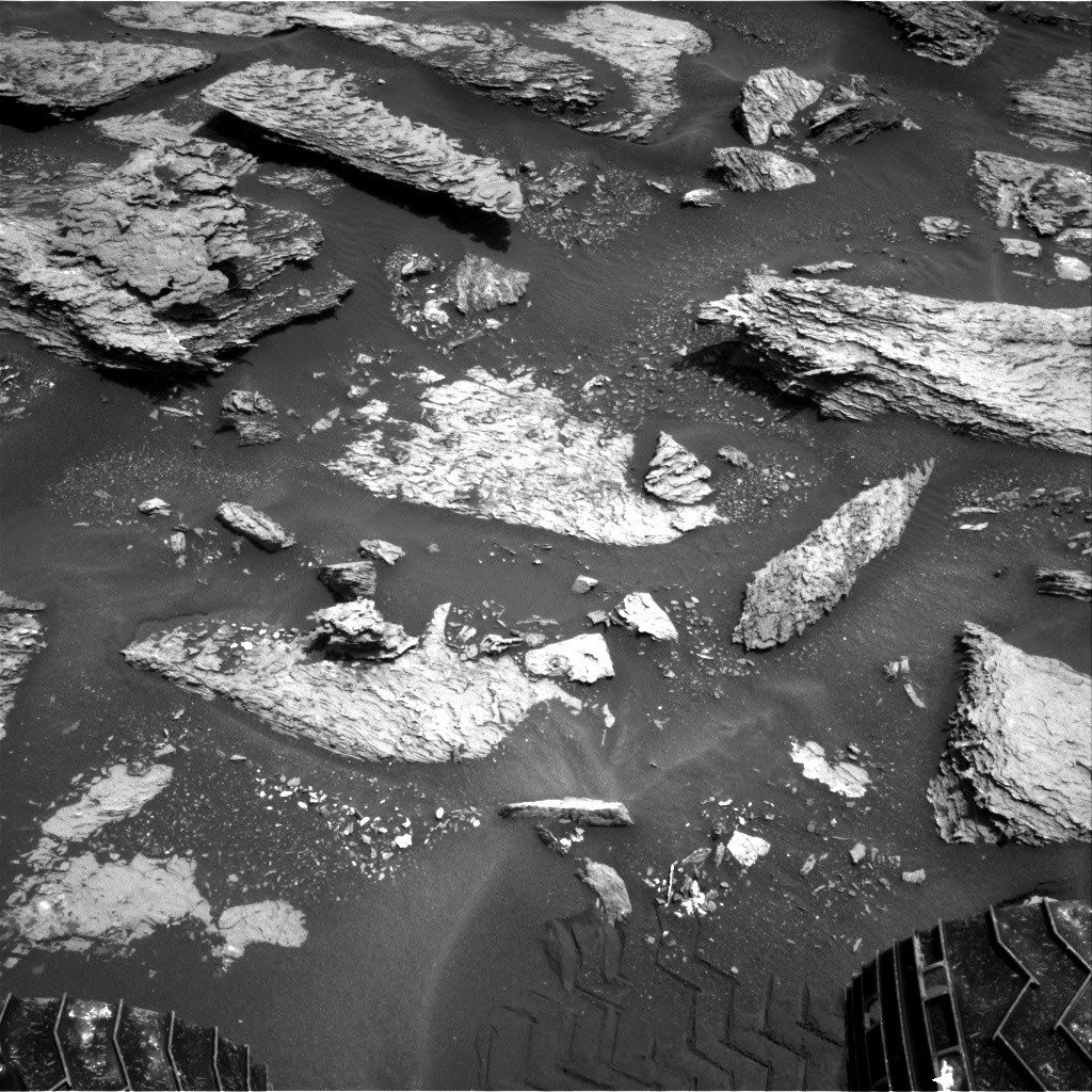 NASA's Mars rover Curiosity acquired this image using its Right Navigation Cameras (Navcams) on Sol 1683