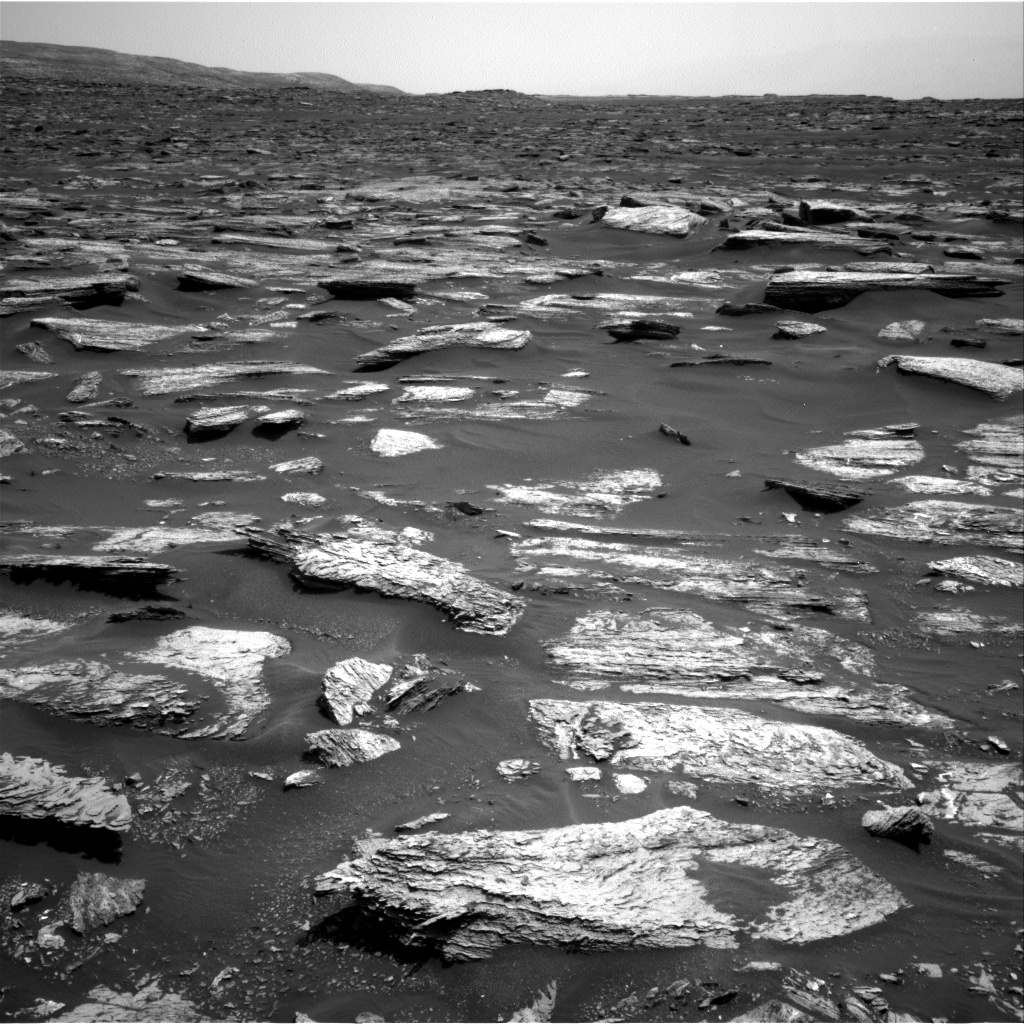 Nasa's Mars rover Curiosity acquired this image using its Right Navigation Camera on Sol 1683, at drive 2726, site number 62