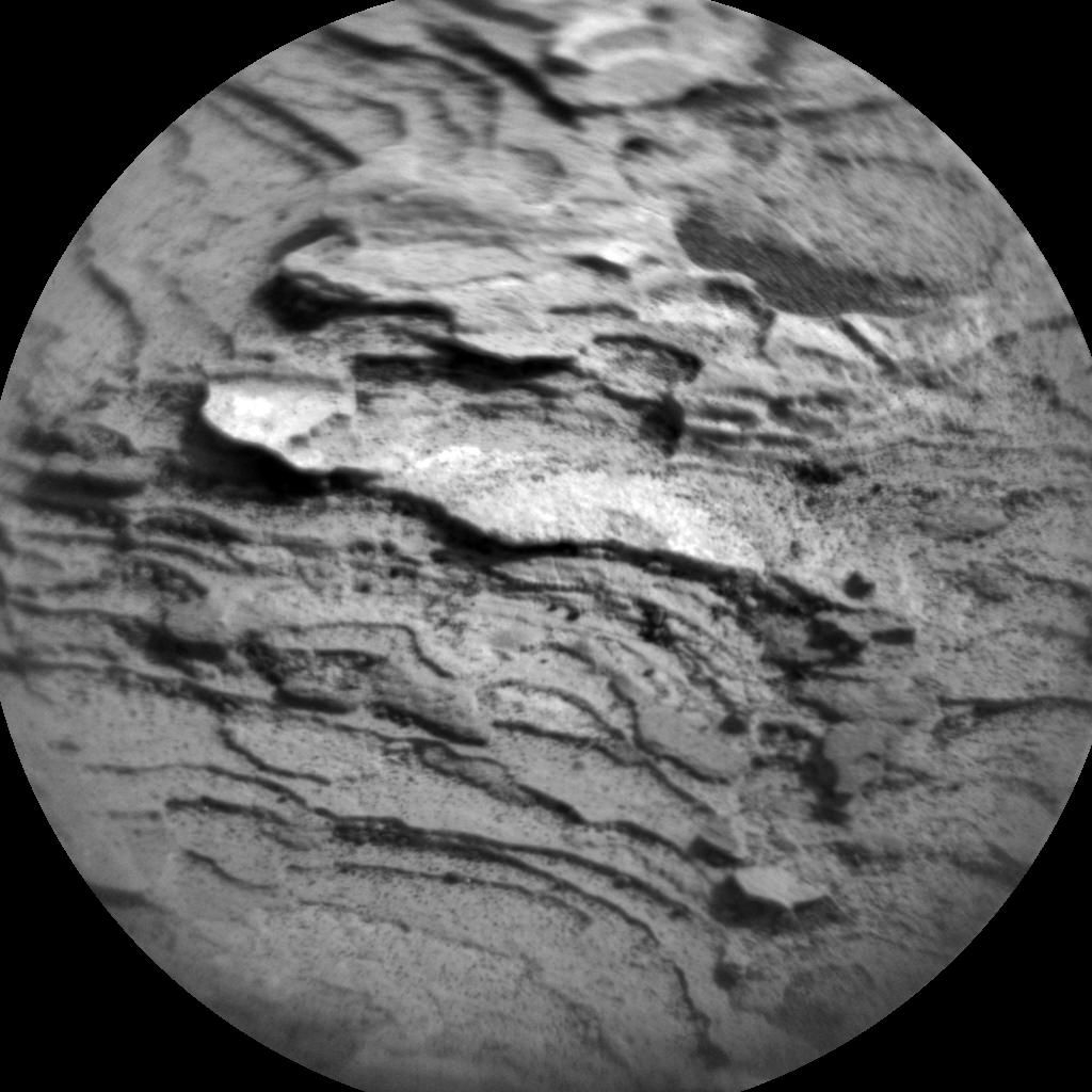 Nasa's Mars rover Curiosity acquired this image using its Chemistry & Camera (ChemCam) on Sol 1683, at drive 2726, site number 62