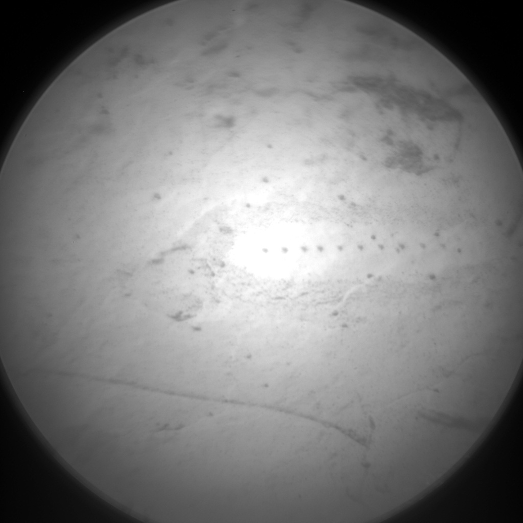 Nasa's Mars rover Curiosity acquired this image using its Chemistry & Camera (ChemCam) on Sol 1684, at drive 2726, site number 62