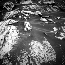 Nasa's Mars rover Curiosity acquired this image using its Left Navigation Camera on Sol 1684, at drive 2774, site number 62