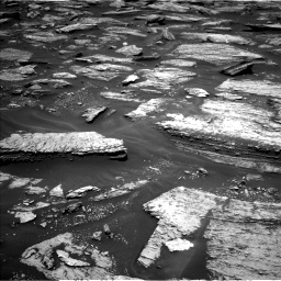 Nasa's Mars rover Curiosity acquired this image using its Left Navigation Camera on Sol 1684, at drive 2792, site number 62