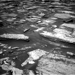 Nasa's Mars rover Curiosity acquired this image using its Left Navigation Camera on Sol 1684, at drive 2798, site number 62