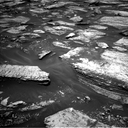 Nasa's Mars rover Curiosity acquired this image using its Left Navigation Camera on Sol 1684, at drive 2804, site number 62