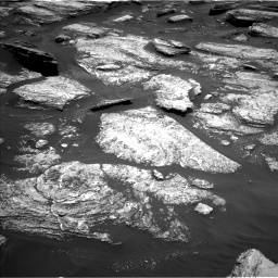 Nasa's Mars rover Curiosity acquired this image using its Left Navigation Camera on Sol 1684, at drive 2912, site number 62