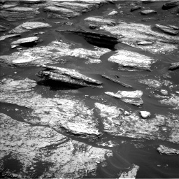Nasa's Mars rover Curiosity acquired this image using its Left Navigation Camera on Sol 1684, at drive 2936, site number 62