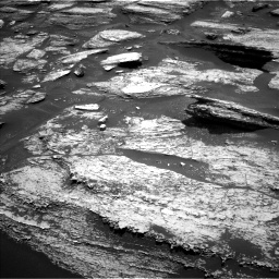 NASA's Mars rover Curiosity acquired this image using its Left Navigation Camera (Navcams) on Sol 1684