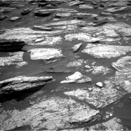 Nasa's Mars rover Curiosity acquired this image using its Left Navigation Camera on Sol 1684, at drive 2972, site number 62