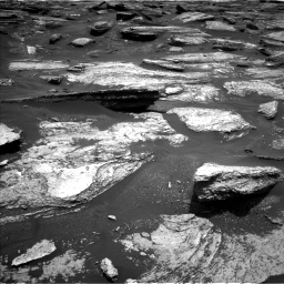 Nasa's Mars rover Curiosity acquired this image using its Left Navigation Camera on Sol 1684, at drive 2990, site number 62