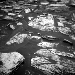 Nasa's Mars rover Curiosity acquired this image using its Left Navigation Camera on Sol 1684, at drive 3026, site number 62