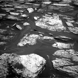 Nasa's Mars rover Curiosity acquired this image using its Left Navigation Camera on Sol 1684, at drive 3032, site number 62