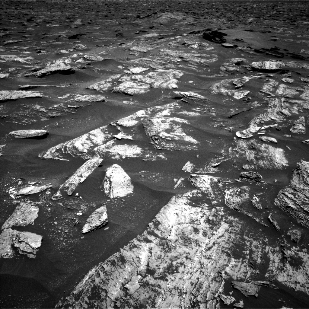 Nasa's Mars rover Curiosity acquired this image using its Left Navigation Camera on Sol 1684, at drive 3050, site number 62