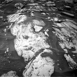 Nasa's Mars rover Curiosity acquired this image using its Right Navigation Camera on Sol 1684, at drive 2750, site number 62