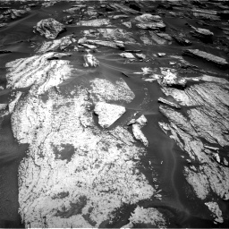 Nasa's Mars rover Curiosity acquired this image using its Right Navigation Camera on Sol 1684, at drive 2756, site number 62