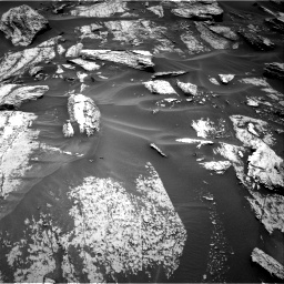 Nasa's Mars rover Curiosity acquired this image using its Right Navigation Camera on Sol 1684, at drive 2774, site number 62