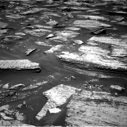 Nasa's Mars rover Curiosity acquired this image using its Right Navigation Camera on Sol 1684, at drive 2792, site number 62