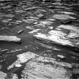 Nasa's Mars rover Curiosity acquired this image using its Right Navigation Camera on Sol 1684, at drive 2798, site number 62
