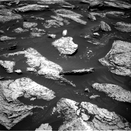 Nasa's Mars rover Curiosity acquired this image using its Right Navigation Camera on Sol 1684, at drive 2834, site number 62