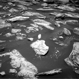 Nasa's Mars rover Curiosity acquired this image using its Right Navigation Camera on Sol 1684, at drive 2840, site number 62