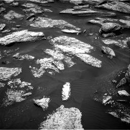 Nasa's Mars rover Curiosity acquired this image using its Right Navigation Camera on Sol 1684, at drive 2852, site number 62