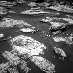 Nasa's Mars rover Curiosity acquired this image using its Right Navigation Camera on Sol 1684, at drive 2864, site number 62
