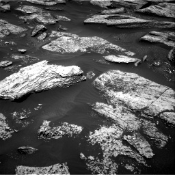 Nasa's Mars rover Curiosity acquired this image using its Right Navigation Camera on Sol 1684, at drive 2870, site number 62