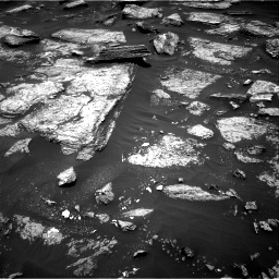 Nasa's Mars rover Curiosity acquired this image using its Right Navigation Camera on Sol 1684, at drive 2894, site number 62